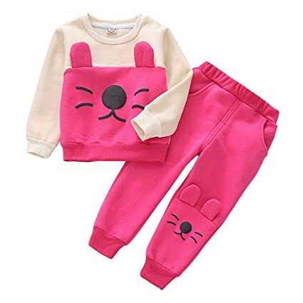 Amazon.com  Fashion Children Sweat Suit 94c85a57e0d7