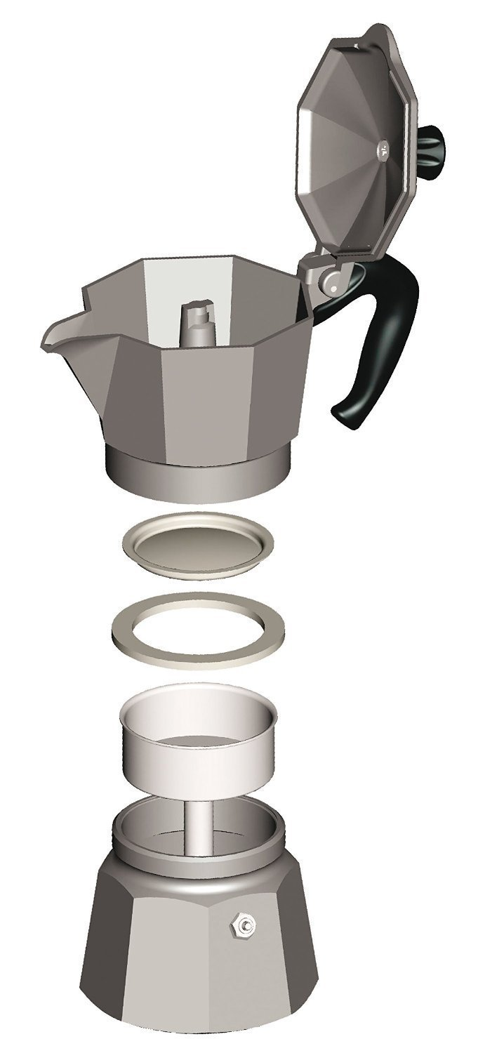 Bialetti 6-Cup Stovetop Espresso Maker by Bialetti (Image #3)