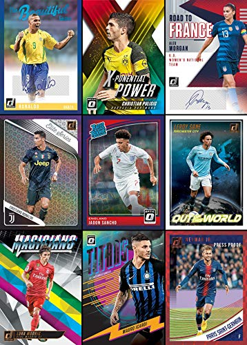 2019 Panini Donruss Soccer HOBBY box