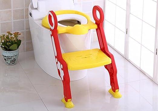 S de aseo masculino bebé heces Silla de bebé Escaleras de Damas niños anillo de asiento de inodoro Mujer WC Aseo (Color : 2#) : Amazon.es: Hogar