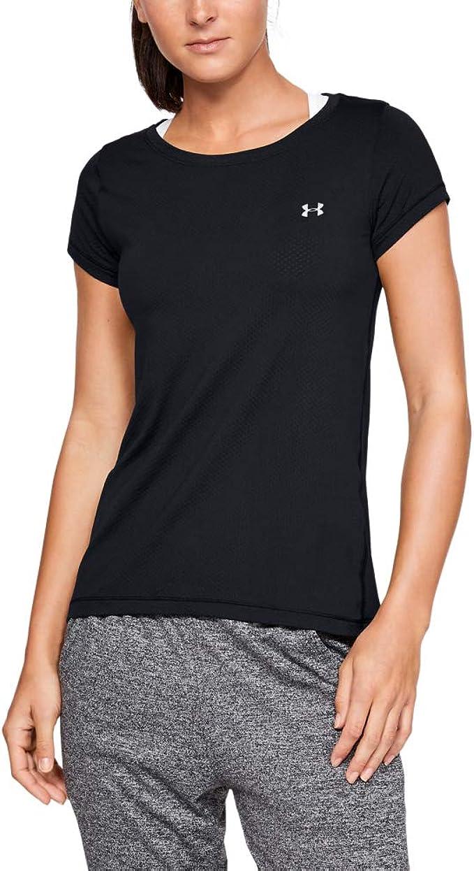 Under Armour Women's HeatGear Armour Short Sleeve Shirt