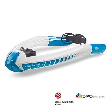 Image accompagnant le produit AMEO POWERBREATHER PB01 SPORT air toujours frais, sans pendule respirer grâce à la technologie brevetée de la valve (plongée en apnée, la plongée avec tuba du nageur)