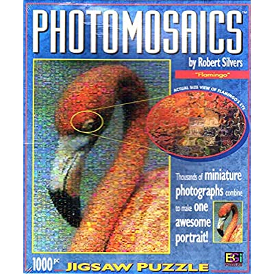Flamingo Photomosaics Puzzle Par Robert Silvers