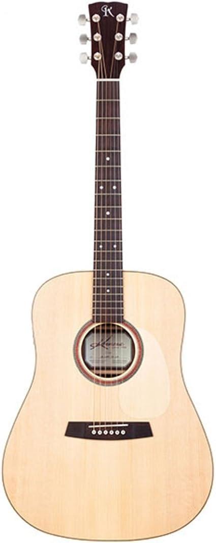 Kremona F10C Serie Guitarra acústica de cuerdas de acero. Madera ...