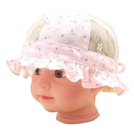 Zuoyety estate elegante e alla 5 – 12 mesi mesh traspirante bambino piccolo  motivo floreale in 37c3d42610cf
