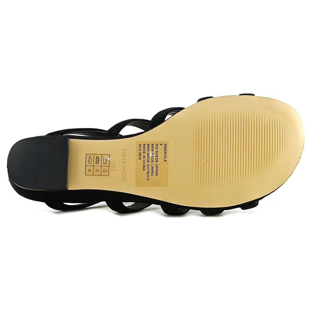 Women's Shoes Nine West Womens Zavila Open Toe Casual Slide Sandals