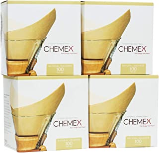 product image for CHEMEX Bonded Filter - Natural Square - 100 ct - 4 Pack - Exclusive Packaging