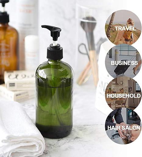 LINE FRIENDS Brown Sally Figure 17oz 500ml Soap Shampoo Dispenser for Bath