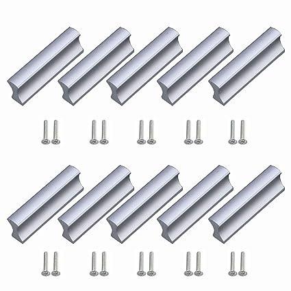 youkap 10 pezzi maniglie mobili 32mm per negozio cucina portelli di armadietto impugnatura ante armadio cassetti