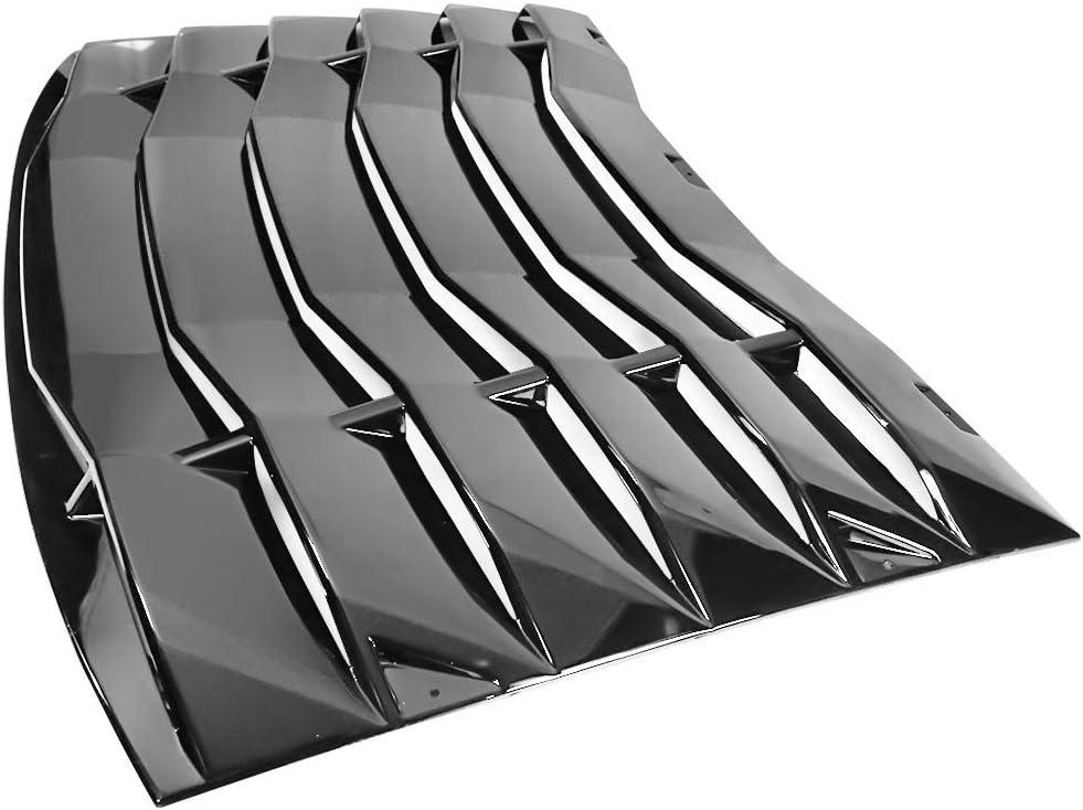 Body & Trim IKON MOTORSPORTS Rear Window Louver IKON Style Rear ...