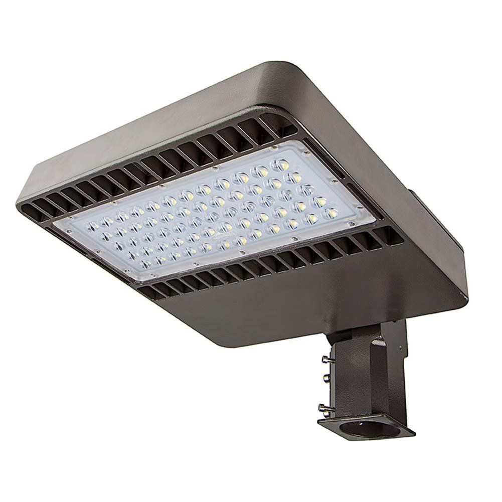 LED Parking Lot Lights 150w Street Lighting 16500lm AC90-265V Shoebox Area Light for Path Garden and Outdoor Places IP65 Waterproof (150W)
