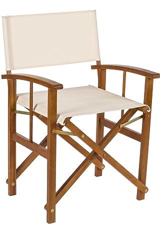 liberoshopping fauteuil metteur en scne bois acacia lux lib622 - Fauteuil Metteur En Scene