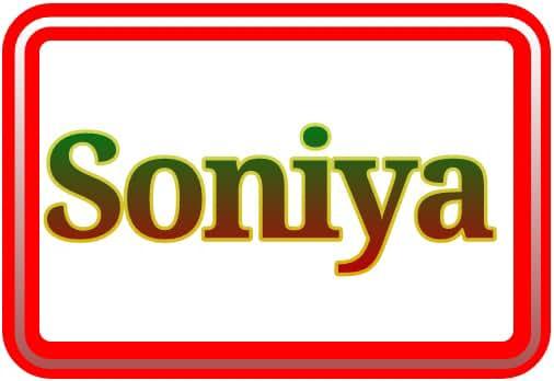 Soniya Official Website