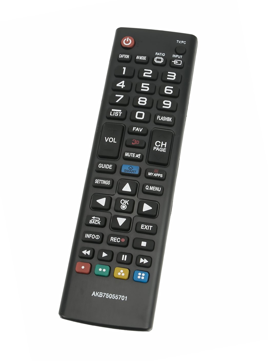 VINABTY New AKB75055701 Replace Remote fit for LG TV 32LF5850 32LF585B 32LF585D 42LF5850 42LF585T 55LF5850 60LB5800 60LF5850 AKB74915304 AKB74915305 AKB74915321 AKB74915356 AKB74915393 AKB73715608
