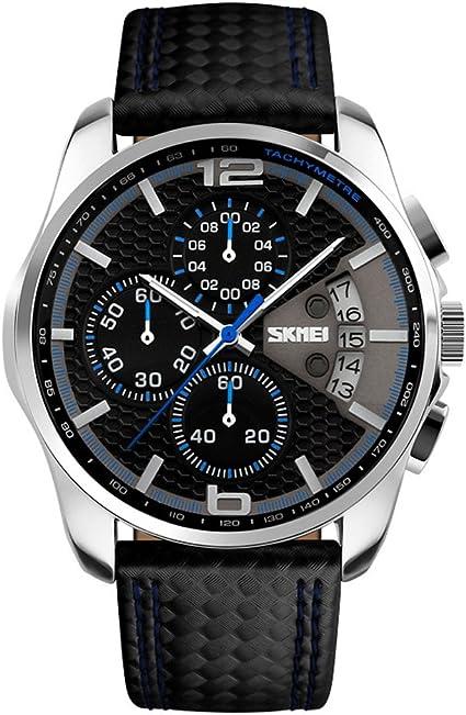Skmei para Hombre al aire libre escalada o senderismo función de relojes deportivos 30 ma prueba de agua negocio reloj reloj de pulsera para hombre