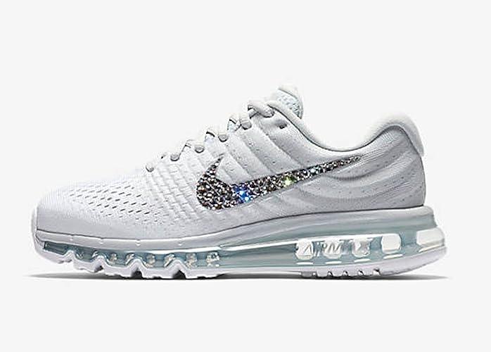 Womens Swarovski Nike air max 2017, Blinged out Nike shoes, Bling nike air  max