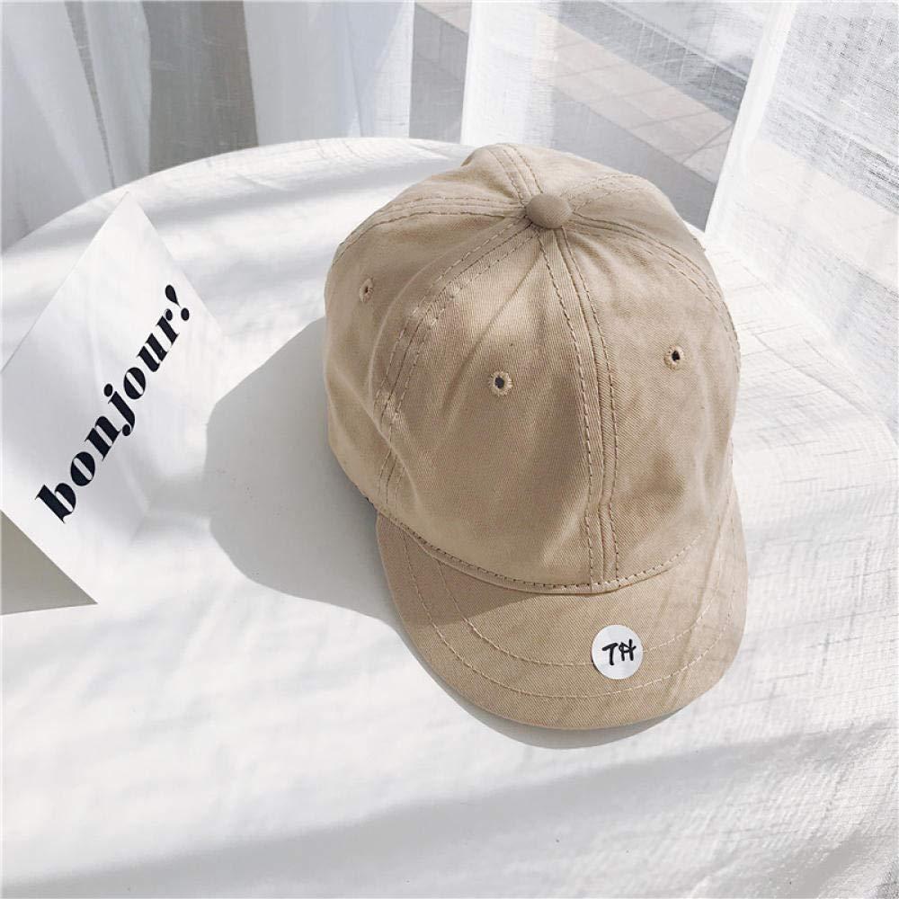 chuqi Baseball Cap Baumwolle Kurze Kappe entlang der Kappe M/änner und Frauen im Freien Freizeit Sonnenhut Kurze Zunge