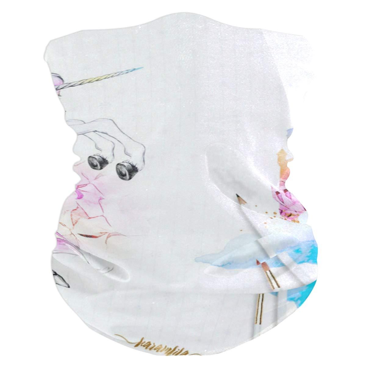 Cute Watercolor Unicorn...