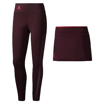 adidas US Series Falda Leggings, Rojo: Amazon.es: Deportes y aire ...