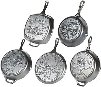 Lodge Wildlife Series – Seasoned Cast Iron Cookware