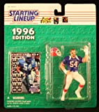 : CHRIS SPIELMAN / BUFFALO BILLS 1996 NFL Starting Lineup Action Figure & Exclusive NFL Collector Trading Card