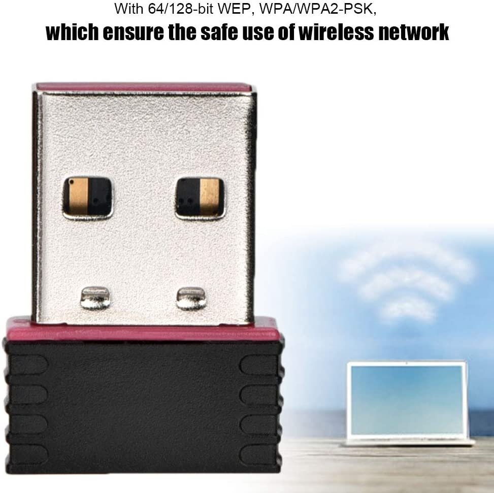 Support 802.11b//g//n Devices 600Mbps Wireless Network Card Adapter for Win XP//7//8//10 //OS 2.4GHZ USB WiFi Adapter
