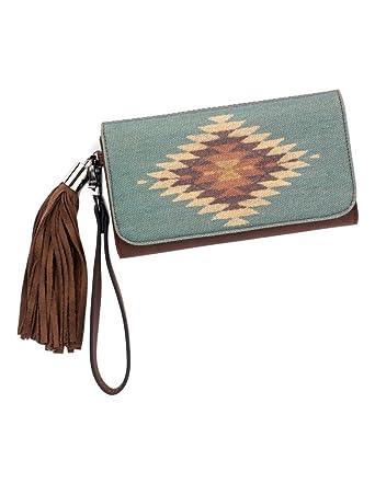 309ed3f46825 Blazin Roxx Women's Zapotec Style Flap Wallet