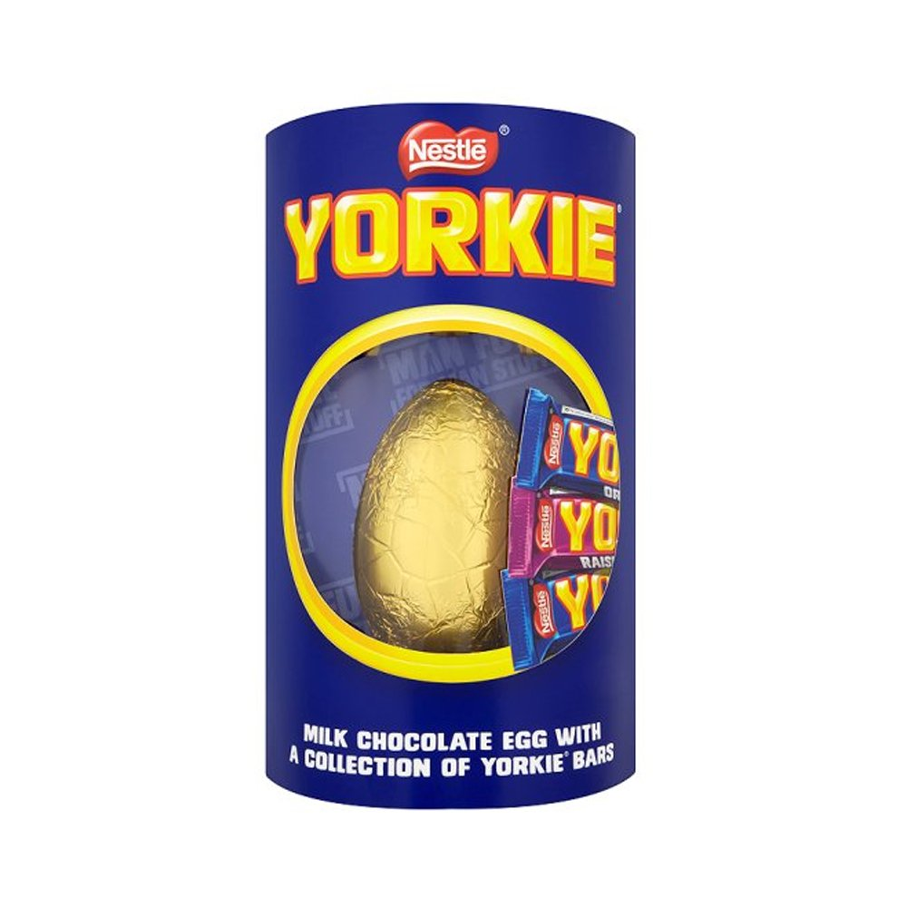 Giant yorkie easter egg with 3 x yorkie chocolate bars 336g giant yorkie easter egg with 3 x yorkie chocolate bars 336g amazon grocery negle Gallery