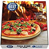 grill cooking stone - Make The Best Crispy Crust Pizza. Use the Only Pizza Stone with Thermarite (Engineered Tuff Cordierite). Durable, Certified Safe. Made for Ovens & Grills. 16 Round. Recipe Ebook+ Free Scraper