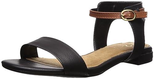 1d481a5d306 Aerosoles Womens Down Under Flat Sandal  Amazon.ca  Shoes   Handbags