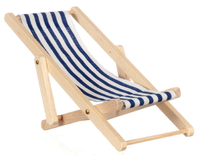 Dollhouse Miniature 1:12 Scale Lounge Chair #G8117 AZTEC IMPORTS