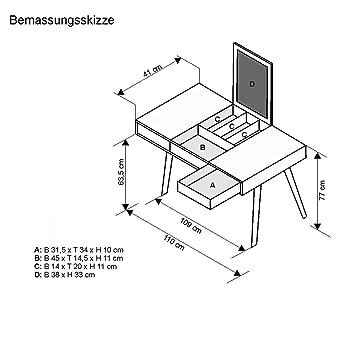 Wohnorama Schreibtisch Winkelkombination Lex Tisch Bht 13675