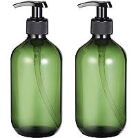 DOITOOL Botellas de Bomba de Plástico Vacías Dispensador