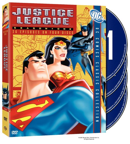 DVD : Justice League of America: Season 1 (Digipack Packaging, , Standard Screen, 4 Disc)