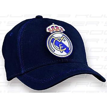 meilleure sélection d2788 4e937 Casquette Real Madrid Bleu Marine Adulte: Amazon.fr: Sports ...