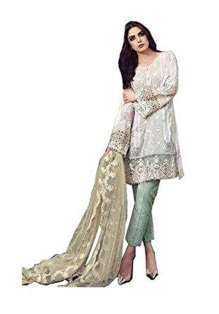 4c116d50155 Madeesh Pakistani Suits for Women Party Wear