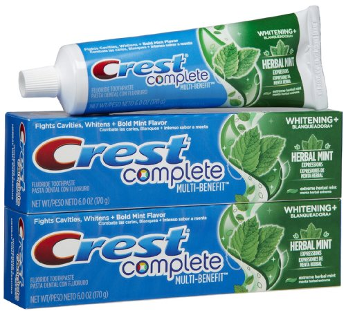 Crest Whitening Expressions Toothpaste, Extreme Herbal mint – 6 oz – 2 pk