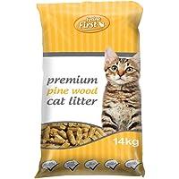 Feline First 50495 Premium Pine Wood Cat Litter 14 kg