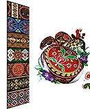 "Ukrainian Heat Shrink Wrap Sleeve Decoration Easter 7 Egg Pysanka ""Traditional"""