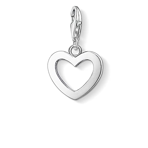Thomas Sabo Damen-Charm-Anhänger Herz Charm Club 925 Sterling Silber 0763-001-12