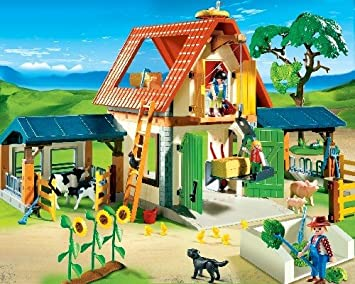 FermeJeux Et Jouets Ferme Vie À La Playmobil 4490 L5j3R4cqA
