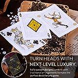 Cyberpunk Purple Playing Cards, Deck of