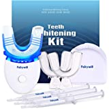 Fairywill Teeth Whitening Kit with Led Light for Sensitive Teeth,Teeth Whitening Kit, 35% Carbamide Peroxide 3ml(3) Gel…