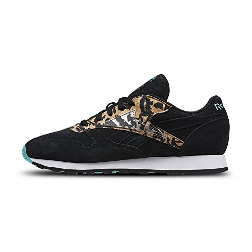 the latest ba7dc bbbca Reebok - Zapatillas de Piel Vuelta para Mujer Negro Black Timeless Teal Rose  Gold White  Amazon.es  Zapatos y complementos