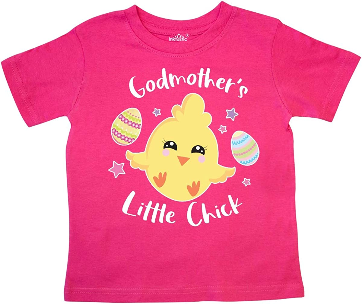 inktastic Happy Easter Godmothers Little Chick Toddler T-Shirt