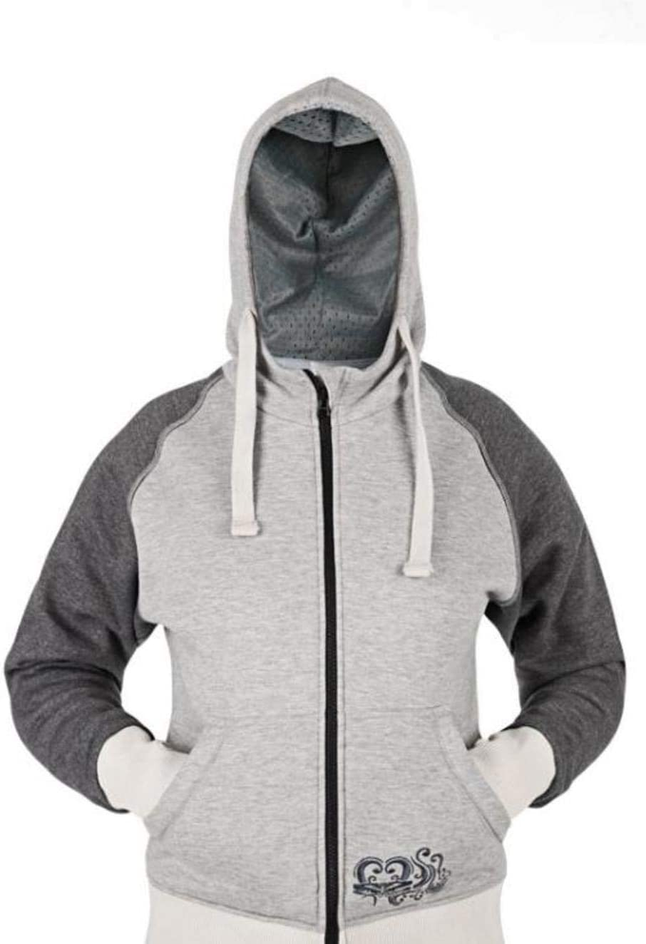 Speed and Strength American Beauty Ladies Armored Gray Hoodie 878905