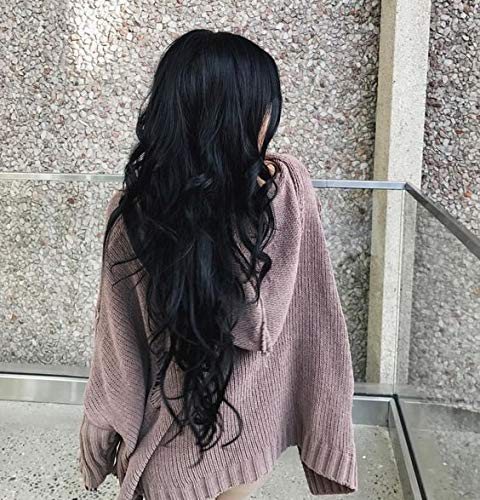 Sunny Human Hair Weft Extensions Sew In #1 Black 100% Remy Human Hair Extensions Double Weft Grade 7A Quality Full Head Thick Thickened Soft Silky Straight for Women Fashion 100g/bundle 22inch (Best Quality Weft Hair Extensions)