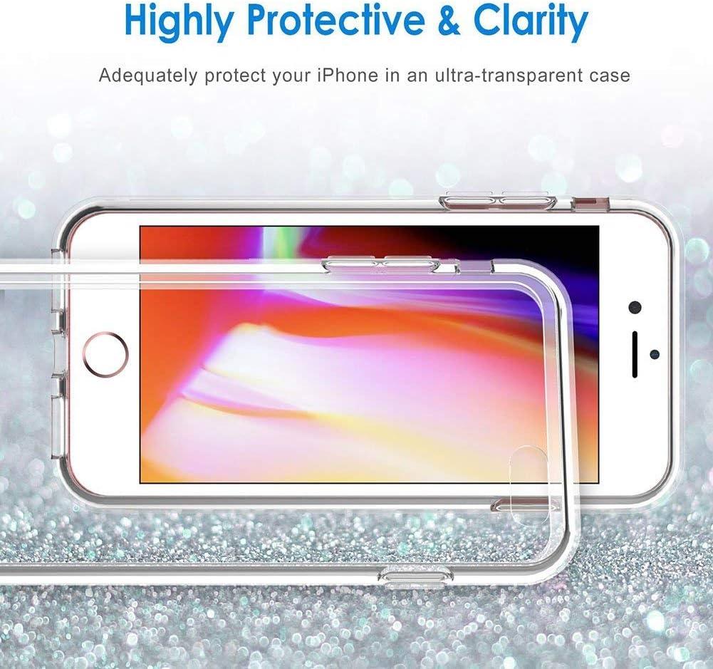 Customizable Patterns iPhone 7//8 Phone Case,Ultra Slim Transparent TPU Shockproof and Anti-Scratch Case Cover LZX20190475