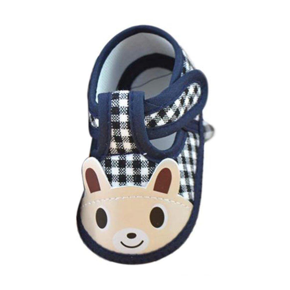 Huangou Toddler Baby Boys Girls Cartoon Animal Print Squeaky Sandals Shoes Sneakers