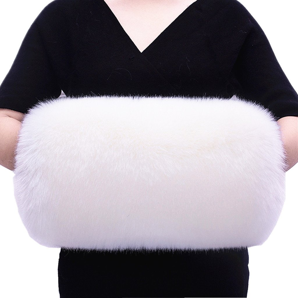 Faux Fur Hand Muffs Women Faux Fur Handmuff Hand Warmmers